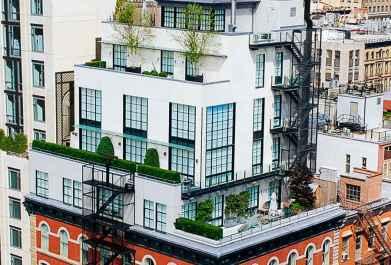 5-nadstropni penthouse v TriBeCi, New York