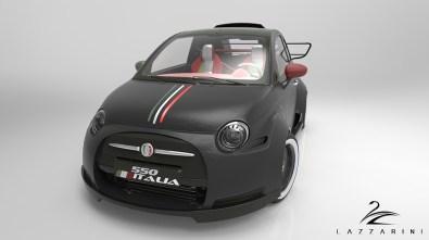 Fiata 550 Italia s Ferrarijevim V8 motorjem bodo izdelali samo enega.