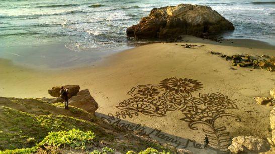 Zaroka na plaži