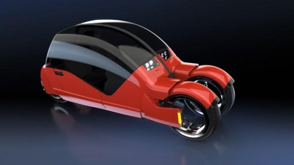 Lanesplitter - avtomobilski razcepljenec