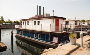 Bivalni čoln na Danskem
