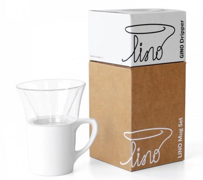 Preprost dizajn notNeutral Gino & Lino Dripper Seta.