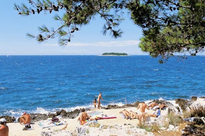 Nudistična plaža Koversada, Vrsar