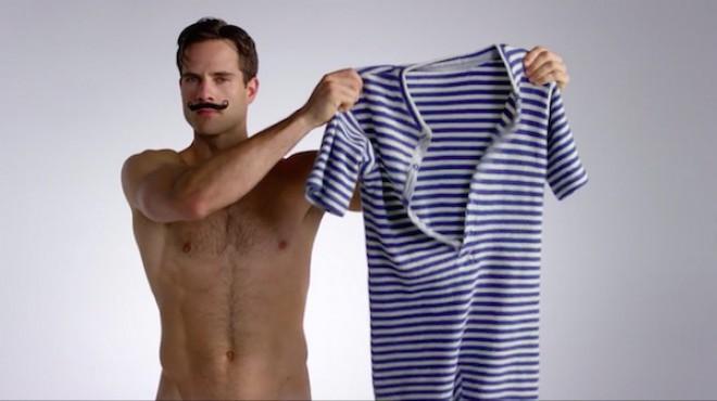 100 let moške kopalne mode v treh minutah.