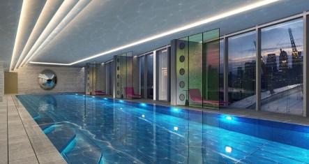 Na razpolago bo tudi notranji bazen.