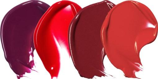 Temno rdeča šminka