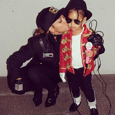 Beyoncé in Blue Ivy kot Janet in Michael Jackson