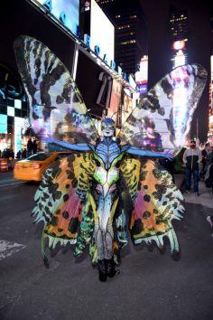 Heidi Klum kot metulj