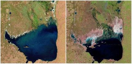 Jezero Mar Chiquita: Argentina: julij 1998 - september 2011