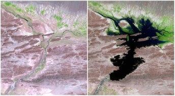 Reka Dasht, Pakistan. Avgust 1999 - junij 2011