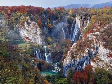 7. Plitvička jezera jeseni, Hrvaška