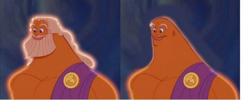 Prej in potem: Zues pred in po britju