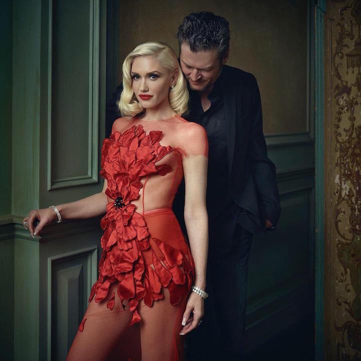 Gwen Stefani in Blake Shelton