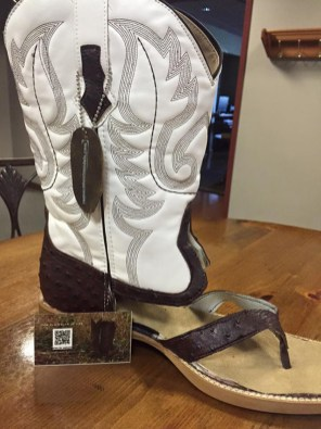 Kavbojski sandali - poletna različica kavbojskih škornjev