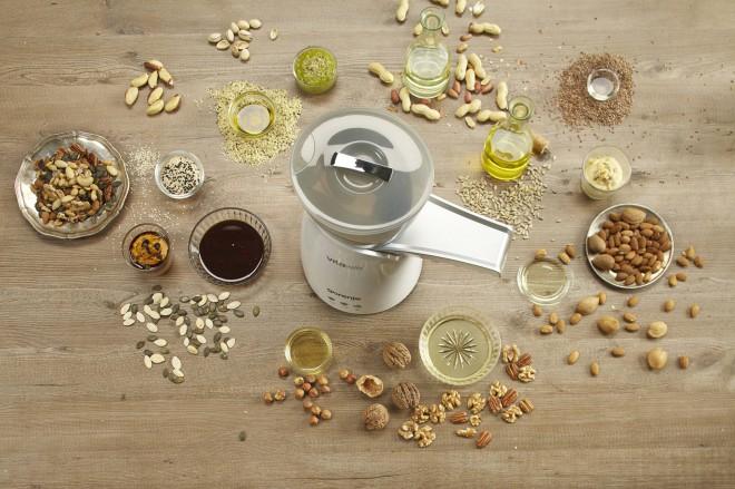 Stiskalnica za olje Gorenje OP650W ti bo vcepila bolj zdrave prehranske navade.