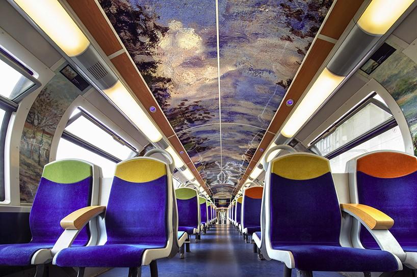 Impresionizem na francoskih vlakih