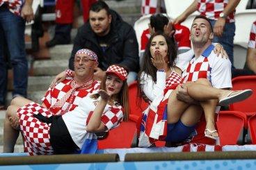 Navijačici Hrvaške