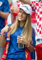 Navijačica Hrvaške