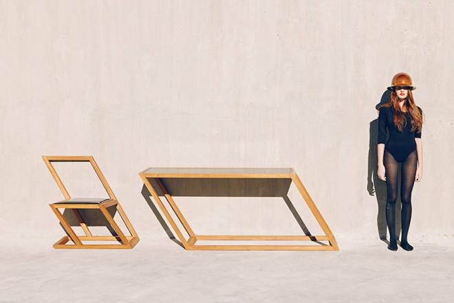 Poševni stoli in mize 60 series