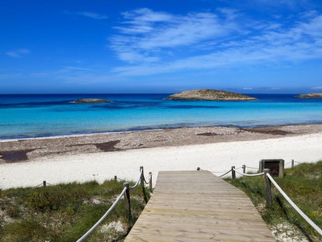 Playa de Ses Illetes (Formentera, Balersko otočje)