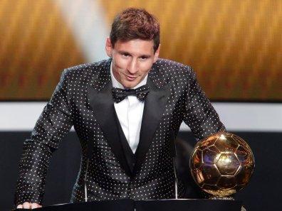 Občasno Messi razkrije tudi razsipniško plat (če temu lahko tako rečemo), a to se zgodi le na gala prireditvah ...