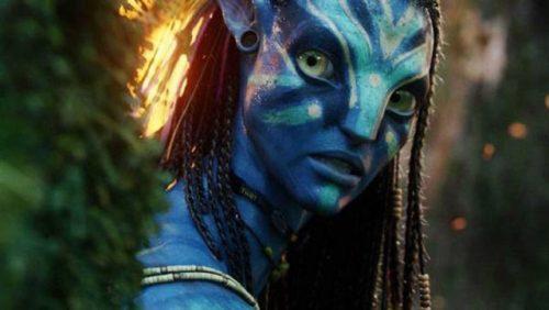 ... Neytiri v Avatarju.