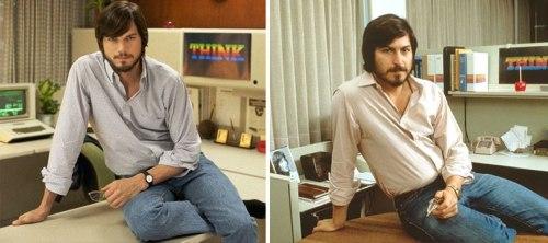 Ashton Kutcher kot Steve Jobs