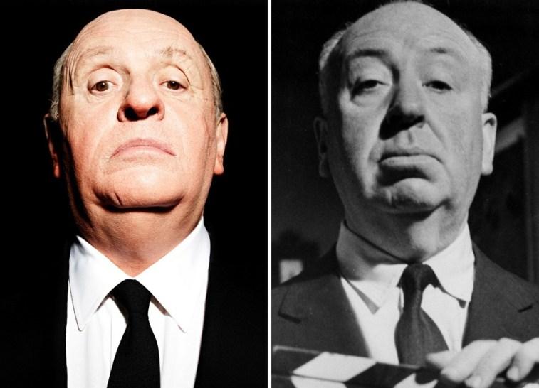 Anthony Hopkins kot Alfred Hitchcock