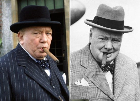 Albert Finney kot Winston Churchill
