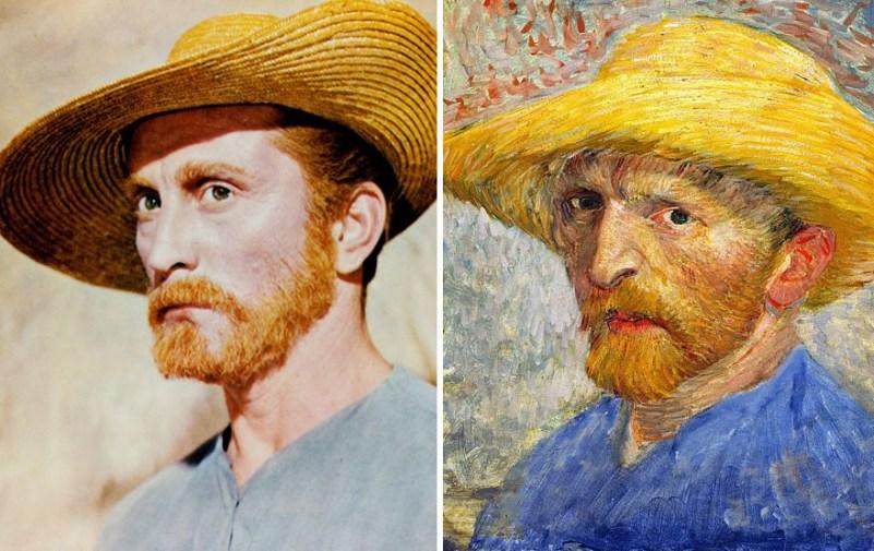 Kirk Douglas kot Vincent Van Gogh
