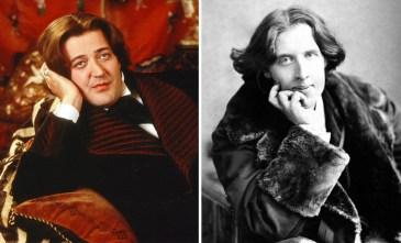 Stephen Fry kot Oscar Wilde