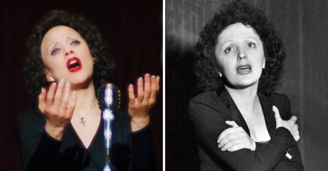 Marion Cotillard kot Édith Piaf