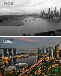 Singapur – leta 2000 in danes