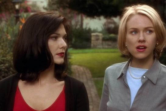 1. mesto: Mulholland Drive (2001)