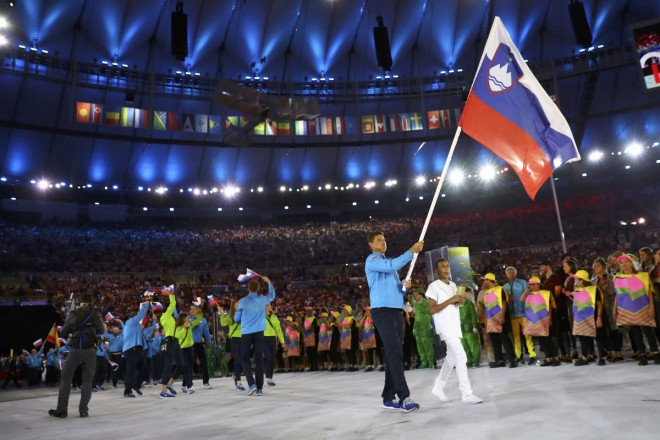 Slovenska olimpijska reprezentanca.