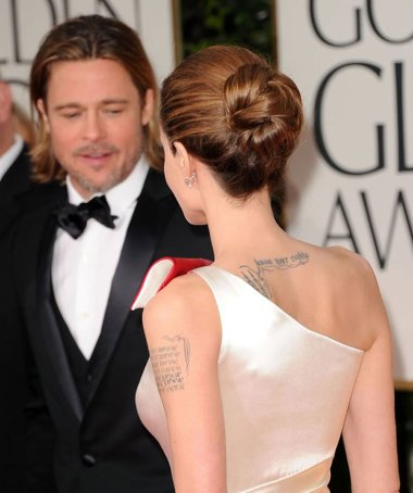 Brad Pitt in Angelina Jolie