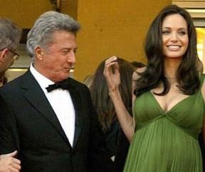 Dustin Hoffman in Angelina Jolie