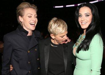 Ellen DeGeneres in Katy Perry