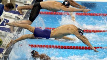Ameriški plavalec Michael Phelps