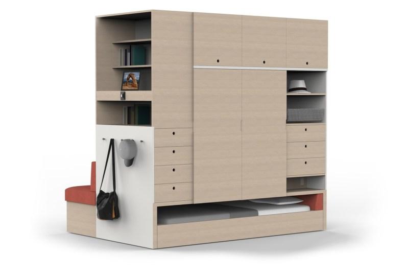 Modularno pohištvo Ori Robotic Furniture