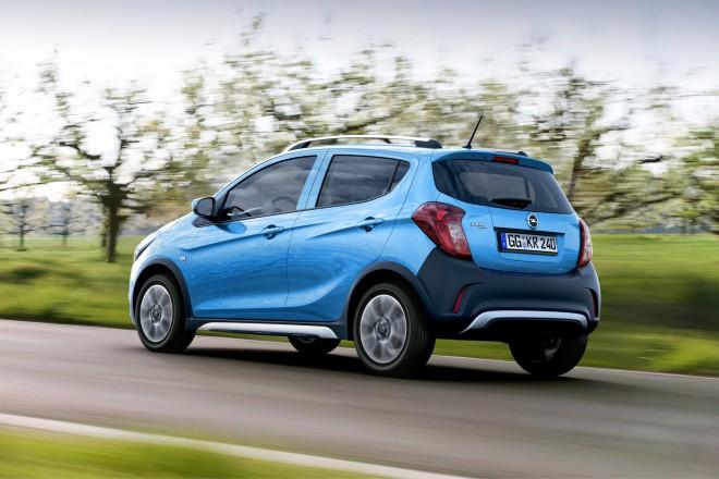 Opel Karl Rocks se predstavi.