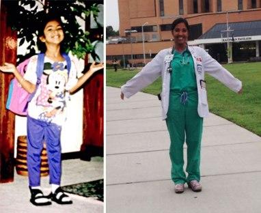 Prvi šolski dan vs. zadnji šolski dan