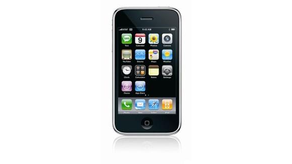 2007 – Apple iPhone – Prvi pametni telefon z zaslonom na dotik, ki pomeni mejnik v tehnologiji pametnih telefonov, kot jih poznamo danes.