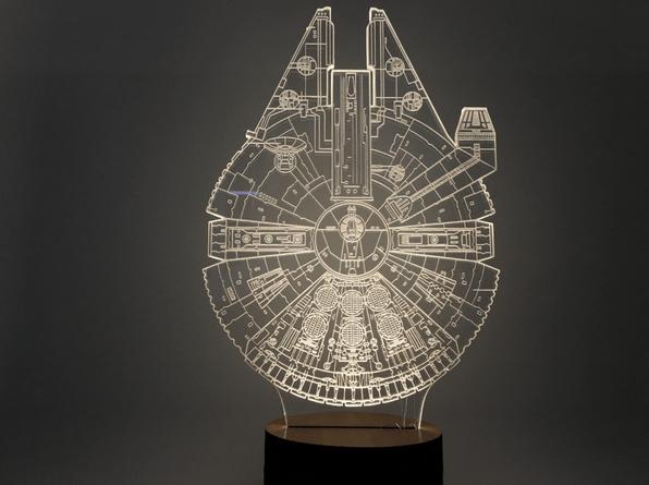 Star Wars liki v podobi luči.