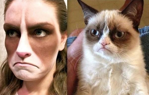 Grumpy Cat – godrnjava mačka