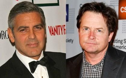 Michael J. Fox in George Clooney, 56 let