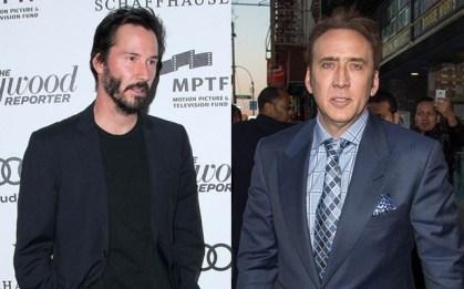 Nicolas Cage in Keanu Reeves, 53 let