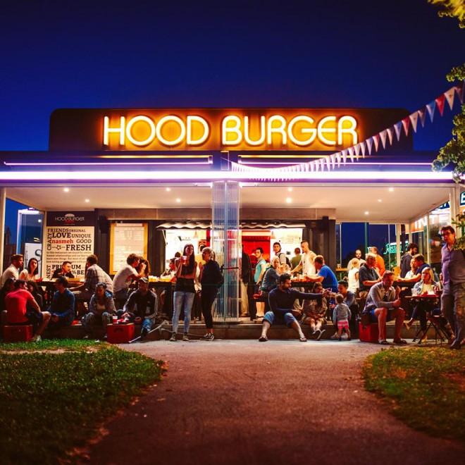 Hood Burger na Viču.