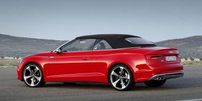 Nova Audi A5 in S5 Cabriolet