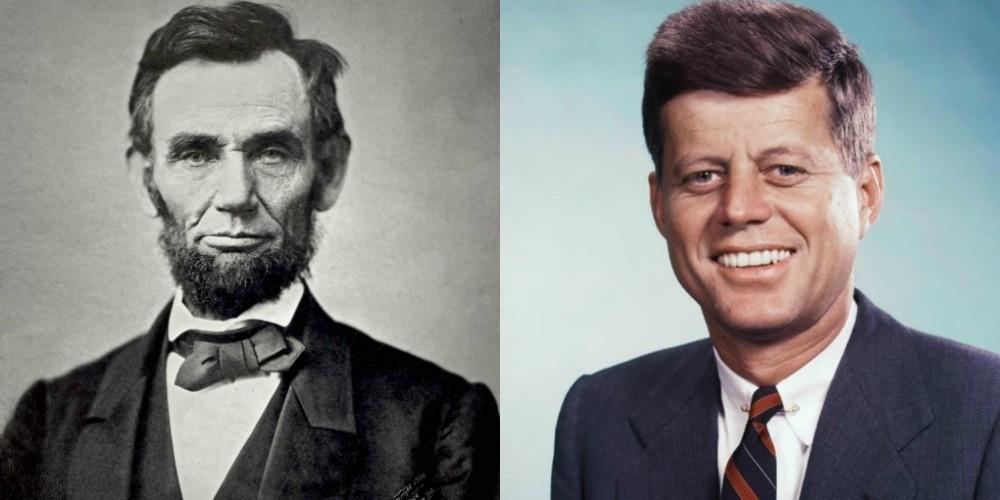 Naključja v biografijah Abrahama Lincolna in Johna F. Kennedyja
